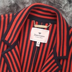 """Juicy Couture"" Navy/Red Blazer"